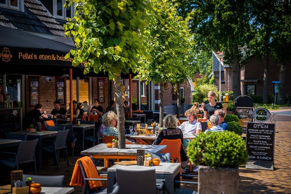 170619, Deurningen: Misset Horeca Terras Top 100, Pelle's Eten en Drinken. Foto: Marcel van Hoorn.