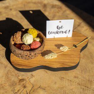 Plankje met Chocolade truffels