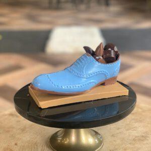 Chocolade herenschoen 'blauw'